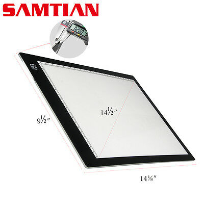 Light box Dbmier A4S USB Powered Light Pad Artcraft Tracing LED Light Board