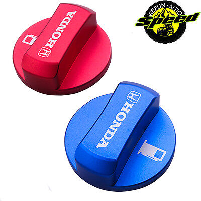 Mugen Car Engine Oil Fuel Filler Aluminium Tank Cap Cover Plug for Honda Civic