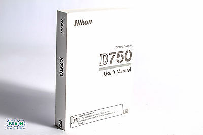 Nikon D750 Instruction Manual