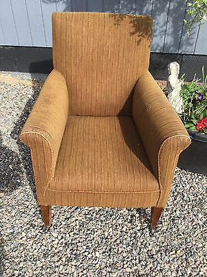 Antique  Edwardian Library Armchair