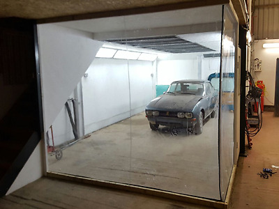 Classic Car Ford Escort Mk 1 Restoration Curtains  20 Ft X 8 Ft Paint Booths