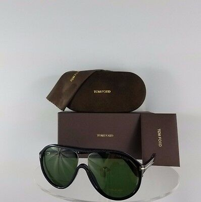 Brand New Authentic Tom Ford TF 443 Sunglasses Edison TF443 01N Black Frame 04af7d78e345