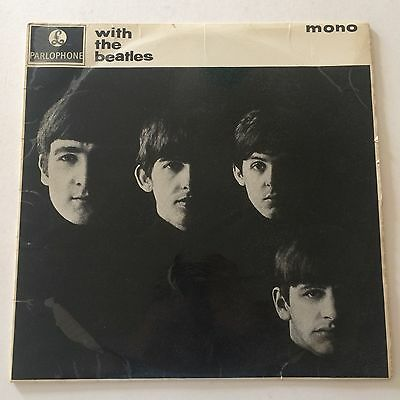 THE BEATLES - WITH THE BEATLES - UK Parlophone LP PMC 1206 Rarest Mono Pressing