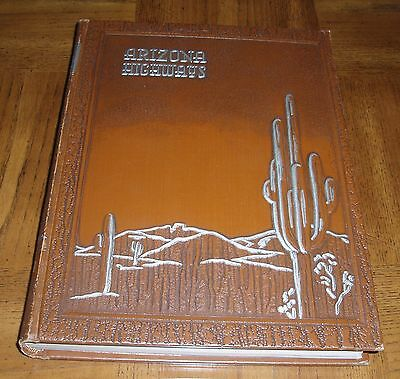 1950 Arizona Highways Bound -12 Issues- January Thru December -Brown Leatherette