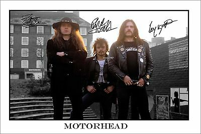 4x6 SIGNED AUTOGRAPH PHOTO PRINT OF MOTORHEAD #46