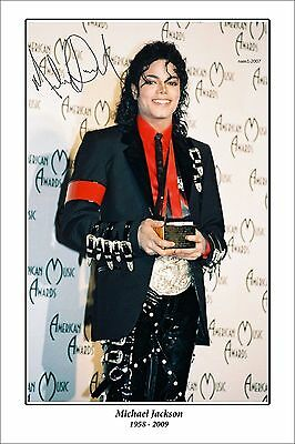 4x6 SIGNED AUTOGRAPH PHOTO PRINT OF MICHAEL JACKSON #46