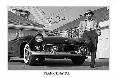 4x6 SIGNED AUTOGRAPH PHOTO PRINT OF FRANK SINATRA #48