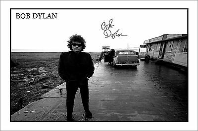 4x6 SIGNED AUTOGRAPH PHOTO PRINT OF BOB DYLAN #48