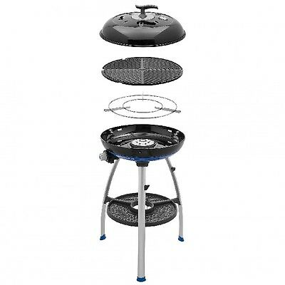 camping cadac gasgrill safari chef 2 skottel grill 4 in1. Black Bedroom Furniture Sets. Home Design Ideas