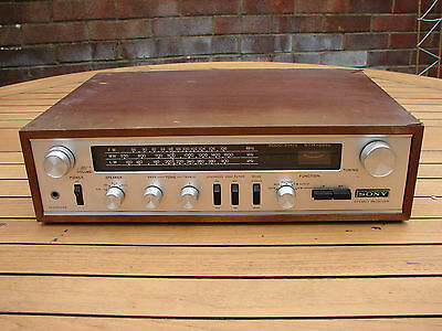 Sony STR-222L Audio Amplifier Receiver Vintage Retro Audio FM/AM Global Ship