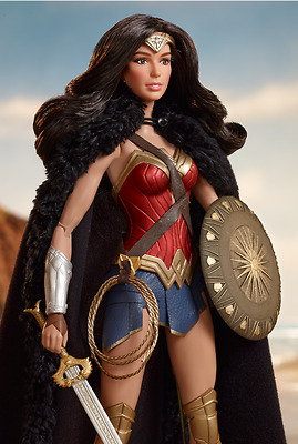 DC New Movie Wonder Woman Articulated Body Amazon Princess Diana Barbie Doll