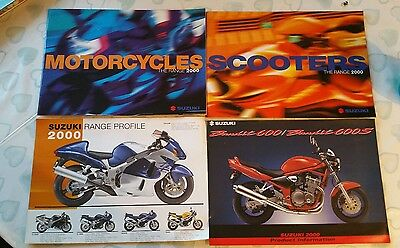 Suzuki Motorcycles  Scooters The Range 2000' Catalogue.& Info