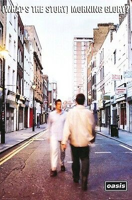 OASIS ~ (WHAT'S THE STORY) MORNING GLORY? 24x36 MUSIC POSTER Liam Noel Gallagher