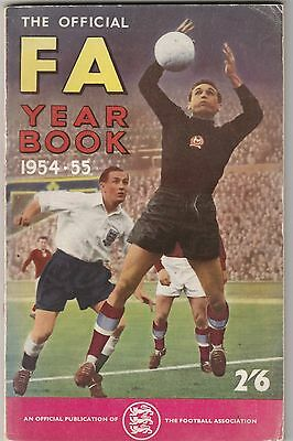 The Football Association Annual - Official FA Year Book 1954-55