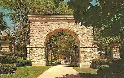 Westminster, MD / Western Maryland College Arch / Hand Dated 1972 / Lot P384