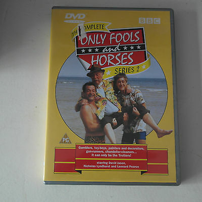 DVD Only Fools And Horses - Serie 2 - Complete (DVD, 2001)