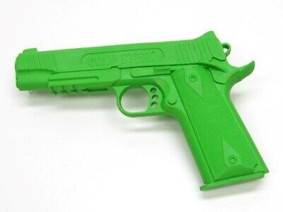Cold Steel Green 1911 Rubber Trainer Training Practice Gun Pistol 92RGC11