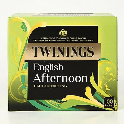 Twinings Traditional Afternoon 100 Tea Bags 250g