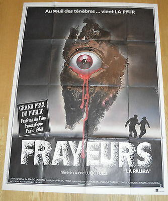 City Of The Living Dead Original Horror Poster French Grande Lucio Fulci
