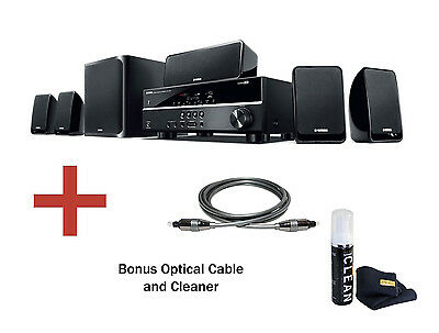 Yamaha YHT-1840 5.1 Channel Home All-In-One Theatre in a Box & Bonus. BRAND NEW!