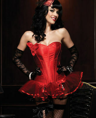 Paige Corset With Support Boning Leg Avenue