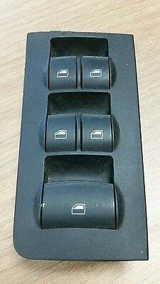 Audi A4 B6 & B7 2002-09 Cabriolet Electric Window Master Switch Pack 8H0959851C