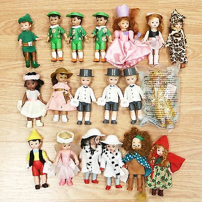 Lot of 19 Collectible 2007 McDonald's Happy Meal Toy Madame Alexander Dolls