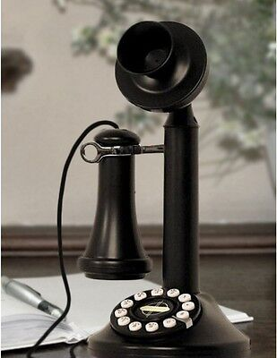 Retro Candlestick Phone Telephone Electric Antique Vintage Decor 1950's Crosley