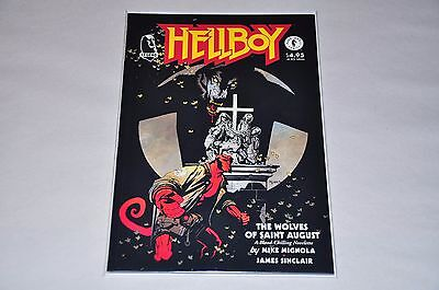 Hellboy The Wolves Of Saint August HIGH GRADE NM