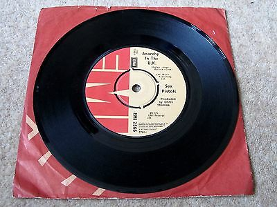 "The Sex Pistols - Anarchy In The UK (7"" VINYL SINGLE, Ex.Cond, 1976, EMI2566)"