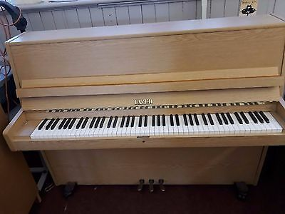 Fazer Light Oak Upright Piano