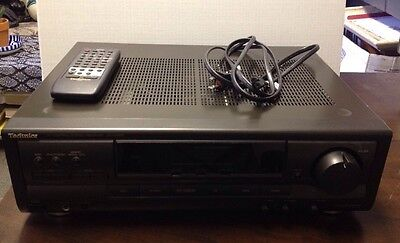 Technics AV Control Stereo Receiver SA-EX300 With Remote (tested And Works)