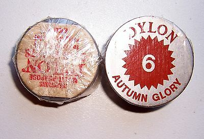2 X Dylon Fabric Dye # 6 Autumn Glory New With Instructions