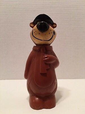 Vintage Knickerbocker, Yogi Bear, Hanna Barbera, Plastic Coin Bank