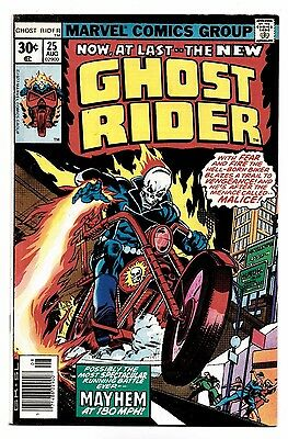 Ghost Rider #25 1977 Marvel Comics Gil Kane cover Johnny Blaze 6.0 FN to 6.5 FN+
