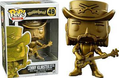 Motorhead - Lemmy Kilmister (Golden Statue Edition) Pop! Vinyl Figure NEW Funko