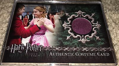 Emma Watson Costume Card MINT Hermione Ball Gown Harry Potter Prop Disney Belle
