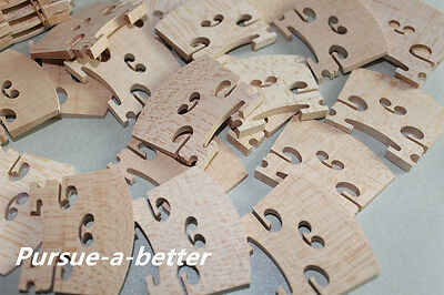 40 pcs most solid maple wood 4/4 violin bridges dried in the open air 15 years