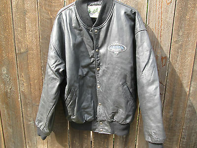 ARISTA RECORDS Vintage 1995 Anniversary Crew Jacket CLIVE DAVIS WHITNEY HOUSTON
