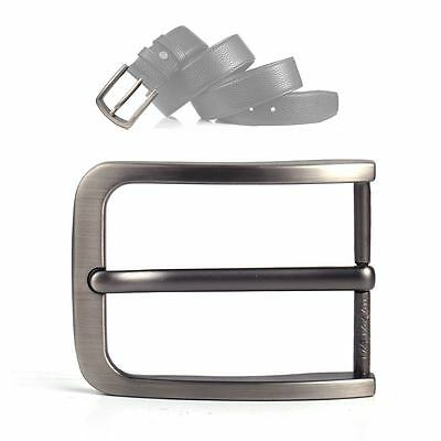 40mm Alloy Single Prong Clip Leather Waist Belt Spare Buckle Replacement Men Boy