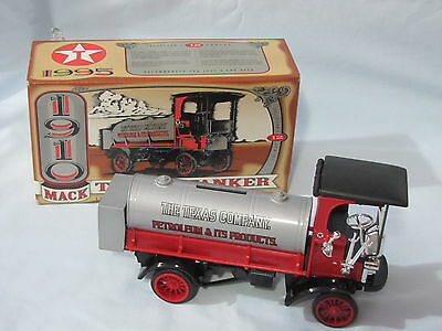 Texaco Collector Series #12 1910 Mack Tanker Bank Limited Made 1995