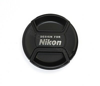 72mm Snap On Center Pinch Lens Front Cap for Nikon Camera 72 mm Filter Size