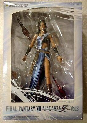 Final Fantasy XIII Play Arts Kai: Oerba Yun Fang Action Figure Square Enix NEW