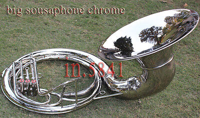 "Christmas_Gift Sousaphone 24 "" Valve""big_Sousaphone.brass W/ Case*box""shipping"
