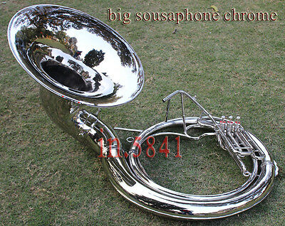 "Christmas_Gift_Sousaphone 24 "" Valve Big_Sousaphone.brass W/ Case Box Shipping"