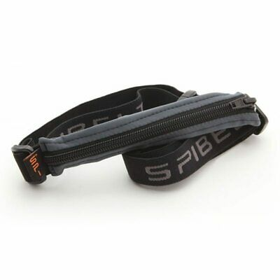 Spibelt Original Running Sports Belt - Anthracite W/ Black Zip