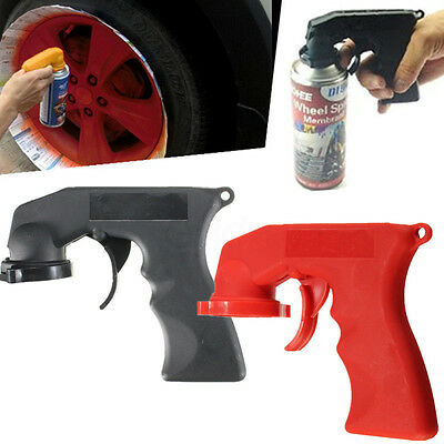 2X Aerosol Spray Paint Applicator Tin Can Handle w/ Grip Trigger For Painting AU