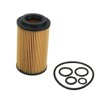 Engine Oil Filter + Seal Ring Gasket Cartridge For Mercedes Benz #A 0001802309