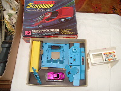 Vintage Matchbox Scorpions Sting Pack 3000 Pack For Superfast Circuits