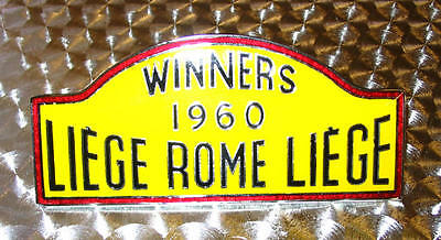 Liege Rome Liege Rally Badge